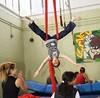 Bassline Circus Workshop (Bassline Circus) Tags: basslinecircus performance liveshows circus acts kids workshops juggling aerial silks acrobatics teaching youthcenter london uk