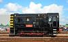 Neil Morgan 08483 at Old Oak Common (davids pix) Tags: d3598 08483 diesel electric shunter locomotive class 08 horwich works old oak common neil scousey 2017 02092017