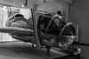 _DSC4121-8 (Ian. J. Winfield) Tags: science museum london aeroplane aircraft plane airplane preserved preservation conservation monochrome black white blackwhite bw shorts jet vtol vertical sc1 experimental british hover