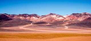 Montañas coloreadas - Bolivia