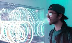 Universe (Federico Massimi) Tags: venice biennaledivenezia art universe canon canon6d colors light neonlights bigbabol