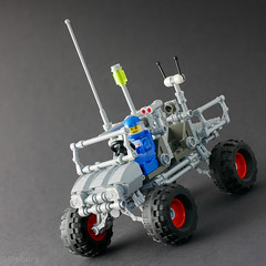Big Wheel Rover (billyburg) Tags: lego classic space lunar moon big wheel rover jeep benny 4wd monster truck