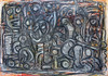 Ich bin im Traum zu dir gefahren - In A Dream I Drove To You (Peter Seelig) Tags: 2017 peterseelig acrylicoilstick art paintings