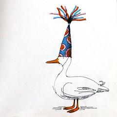Party Duck! (Kultur*) Tags: vintage vintagebook vintageillustration books childrensbooks fiction illustrated drawings children 1960s 60s firstedition childrensbook denmanhampson midcenturymodern midcentury