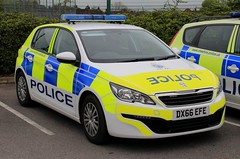 Cheshire Police Peugeot 308 Incident Response Vehicle (PFB-999) Tags: cheshire police constabulary peugeot 308 hatchback incident response vehicle car unit irv panda lightbar grilles leds dx66efe