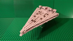 Midi Mandator IV-class Dreadnought (Commander Cloverleaf) Tags: lego star wars destroyer ship midi microscale first order imperial dreadnought siege last jedi mandator 4 iv