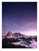 Seiser Alm, Alto Adige, Italy (Nils Leonhardt) Tags: berg mountain schnee snow himmel sky landschaft landscape nature natur outdoor travel winter nikon nikond810 nikkor nikkor1635mm gitzo leefilters leend06softgrad italy südtirol altoadige seiseralm sunset sonnenuntergang moon mond valgardena italien kastelruth castelrotto clouds wolken