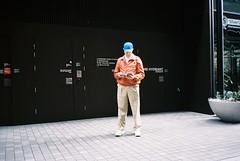 Old Spice (sylvioplath) Tags: 35mm film olympusmjuii olympuscamera kodak portra400 summer sydney fashion streetstyle