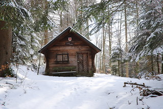 hut in the snow (1)