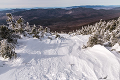 A slide dropping over the edge of Mount Pierce. (Andrew P ( the_aberrant)) Tags: canon canonusa camping neverstopexploring newengland newhampshire whitemountians wilderness nature outdoors hiking white winter snow landscape inspiring mountains lifestyle