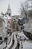 Rue de l'Abrevoir, Paris Montmartre (FEB2018) (Dominique ALLAIN) Tags: paris parissouslaneige france montmartre snowinparis snow citycenter city winter