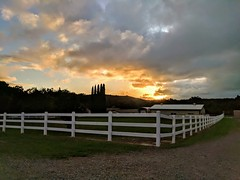 Beauty All Around Us (DirtyBootPrints) Tags: glow sunset clouds sky rain california photo horizon rural mountains looking riding view image beauty dream orange blue shine love happiness excitement feeling emotion wonder landscape
