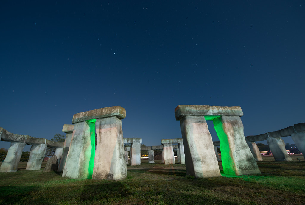 The World's Best Photos of lightpainting and stonehenge