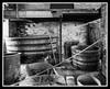 Barrels and Bobs Ilford XP2 (veggiesosage) Tags: calkeabbey derbyshire blackandwhite fujifilm fujifilmx20 x20 wood barrel
