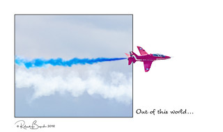 Out of this world - The Red Arrows