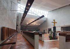 BELLOC-205 (MMARCZYK) Tags: france pays basque pyrénéesatlantiques nouvelleaquitaine belloc abbaye abbatiale opactwo benedictin architecture modernisme brutalisme 1969 64