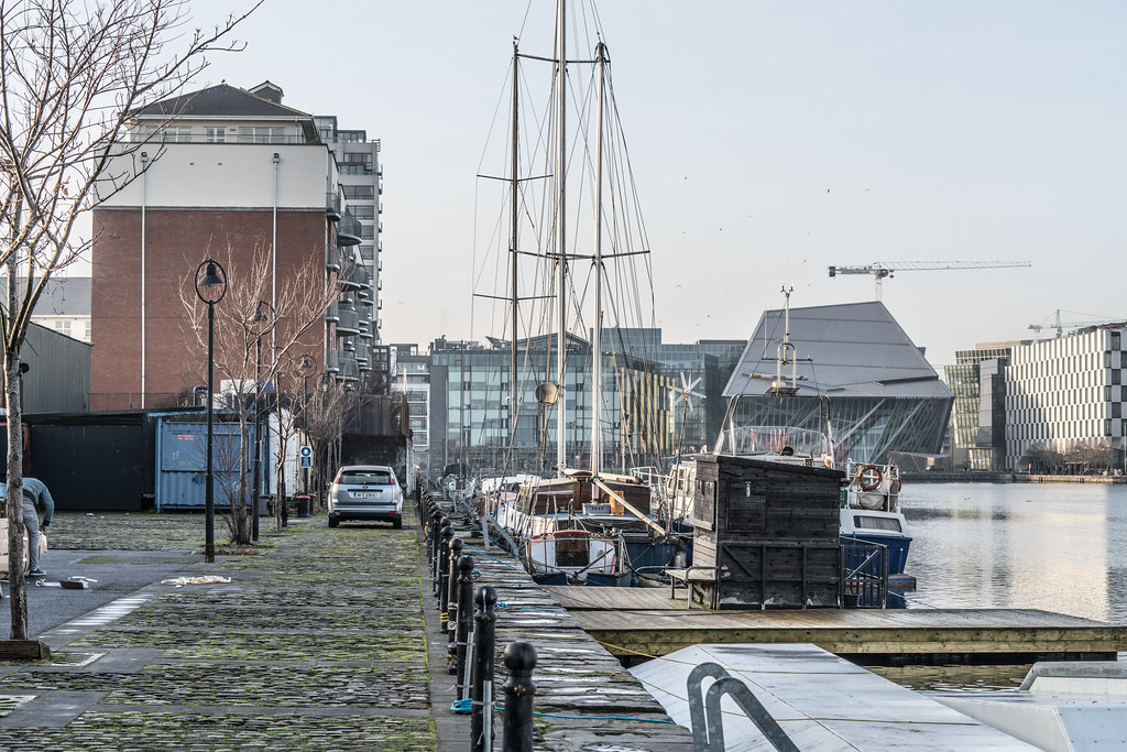GRAND CANAL DOCK AREA OF DUBLIN [PHOTOGRAPHED 11 JANUARY 2018]-135432