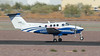 Beech F90 King Air N16WG (ChrisK48) Tags: 1985 90 aircraft airplane beechf90 beechcraft dvt kdvt kingair n16wg phoenixaz phoenixdeervalleyairport westernwingscorp lkhfarms