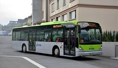 Huttwil, Bahnhofstrasse 01.10.2016 (The STB) Tags: bus busse autobus autobús publictransport öpnv citytransport dieschweiz suisse switzerland suiza