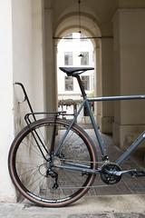 Surly Disc Trucker bituminous gray (Citybiker.at) Tags: disc trucker surly citybiker wien austria steelframe bumm iqx tubus hydraulic