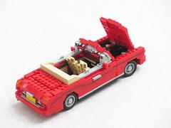 Nikita Bentley Continental (Mad physicist) Tags: lego elton john car nikita video bentley continental british convertible