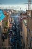 Narrow Streets - Naples, Italy (www.caseyhphoto.com) Tags: d800 europe italy mediterranean naples napoli nikon italia italien nikkor nikond800 photography photographer artist travel traveling traveler traveller travels traveled wanderlust wandering explore explorer exploring adventure adventurer tourism tourist holiday vacation adventuring quartierispagnoli spanishquarter medieval history historic historico old narrow streets population density port shipping houses city cityscape urban campania