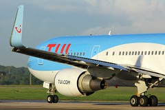 G-OBYF (AnDyMHoLdEn) Tags: thomson tui 767 egcc airport manchester manchesterairport 23l