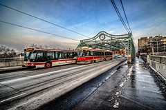 Rockets (A Great Capture) Tags: ttc bus streetcar car transit commission red downtown sunlight sunshine trolley agreatcapture agc wwwagreatcapturecom adjm ash2276 ashleylduffus ald mobilejay jamesmitchell toronto on ontario canada canadian photographer northamerica torontoexplore winter l'hiver