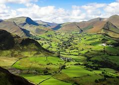 Cat Bells (Prestidigitizer) Tags: uk england unitedkingdom keswick lakedistrict sheep stonewalls british hiking