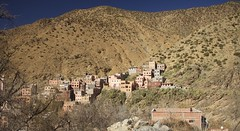 Berber Village (TravellingMiles) Tags: morocco ourikavalley atlasmountains