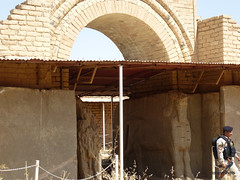 Doorway to Throne Room, Nimrud Palace (2).jpg (tobeytravels) Tags: assyrian palace kalhu calah levekh zigararat lamassu throneroom shalmaneser ashurnasirpal layard stele nabu enli unesco