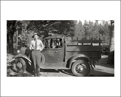 Vehicle Collection (8701) - Ford (Steve Given) Tags: motorvehicle automobile workingvehicle truck lorry ranger nationalparkservice 1930s
