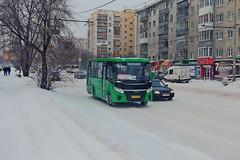 PAZ-320405-04 Vektor  КК 973  66 (RUS) (zauralec) Tags: город улица курган екатеринбург транспорт автобус yekaterinburg shchorsastreet paz32040504 vektor кк 973 66 rus