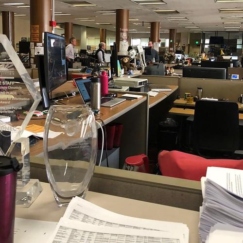 Newsroom, San Francisco Chronicle.