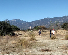 012 The Old Quarry Control (saschmitz_earthlink_net) Tags: 2018 california orienteering irwindale losangelescounty santafedam santafedamrecreationarea laoc losangelesorienteeringclub radio ardf amateurradiodirectionfinding control bush dirt road mountain participant
