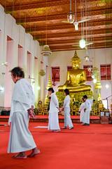 Walking meditation in Bangkok