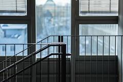 Metal Staircase (*Capture the Moment*) Tags: 2017 architecture fotowalk hochschulefürfernsehenundfilmmünchenundägyptischesmus häuserwohnungen innen innenarchitektur interiordesign munich münchen sonya7m2 sonya7mii sonya7mark2 sonya7ii staircase stefan treppenhaus zeissbatis1885 hochschulefürfernsehenundfilmmünchenundägyptischesmuseum