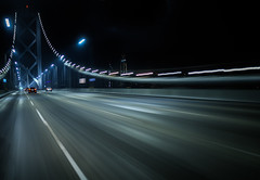 another late night trip across the bridge (pbo31) Tags: bayarea california nikon d810 color boury pbo31 sanfrancisco city night black motion dark urban lightstream movement traffic roadway baybridge motionblur infinity driving 80 bridge windowclip rig latenight salesforce 2018