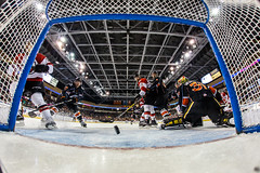 """Kansas City Mavericks vs. Cincinnati Cyclones, February 3, 2018, Silverstein Eye Centers Arena, Independence, Missouri.  Photo: © John Howe / Howe Creative Photography, all rights reserved 2018. • <a style=""""font-size:0.8em;"""" href=""""http://www.flickr.com/photos/134016632@N02/40086507932/"""" target=""""_blank"""">View on Flickr</a>"""