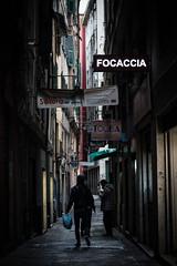 Genova in a nutshell (FButzi) Tags: genova genoa liguria italia italy focaccia vicoli caruggi dark canneto il curto