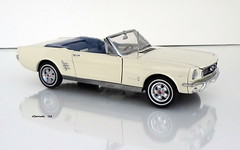 1966 Ford Mustang Convertible (JCarnutz) Tags: 124scale diecast danburymint 1966 ford mustang