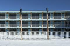 Boardwalk Bugalow. (stevenbley) Tags: wildwood wildwoodcrest northwildwood nj newjersey beach winter snow offseason hotel motel january shore jerseyshore midcentury boardwalkbungalow