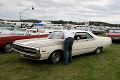 Chrysler 300 Hurst, 1970 (Triple-green) Tags: 1970 2007 300 auto canon24105mm14l canoneos30d chrysler hurst schweden uscar västerås