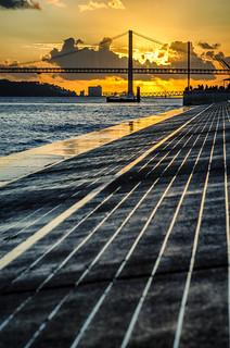 25 de Abril Bridge, Lisbon.