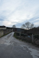 DSC_0047 (richardclarkephotos) Tags: cross guns pub avoncliff wiltshire uk © richard clarke photos kennet avon canal railway river sunset dusk otter bridges pill box ducks trees parapet