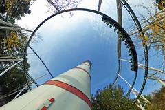 Hansa Park - Leuchtturm und Nessie (www.nbfotos.de) Tags: hansapark leuchtturm lighthouse nessie achterbahn rollercoaster freizeitpark vergnügungspark themepark sierksdorf