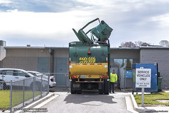 1999 Volvo WXLL - Labrie Top Select Recycling Truck (Thrash 'N' Trash Prodcutions) Tags: garbage trash refuse truck recycle recycling trucks labrie topselect curbside recycler volvo xpeditor wxll autocar whitegmc dump dumpster mrf recyclecenter disposal sanitation waste collection vehicle wm wastemanagement green environmental