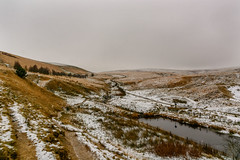 _DSC0078 - Hurstwood moorland (SWJuk) Tags: swjuk uk unitedkingdom gb britain england lancashire burnley worsthorne hurstwood home moors moorland infeed grasses snow snowfall greysky 2017 dec2017 winter nikon d7100 nikond7100 18300mm rawnef lightroomclassiccc