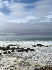 Wave Action at Asilomar Beach (skylarprimm) Tags: beach california monterey nature ocean pacific pacificocean rock sky water wave ✓