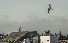 Freestyle Motocross (Silvio Rodrigo Mendez) Tags: moto motocross freestyle motor fly jump beach extreme chile concon monster